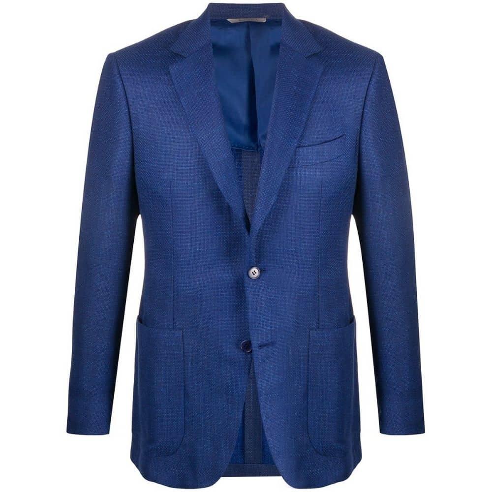 canali kei blue jacket