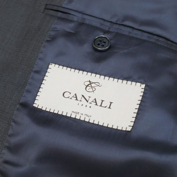 canali suit gray lining1