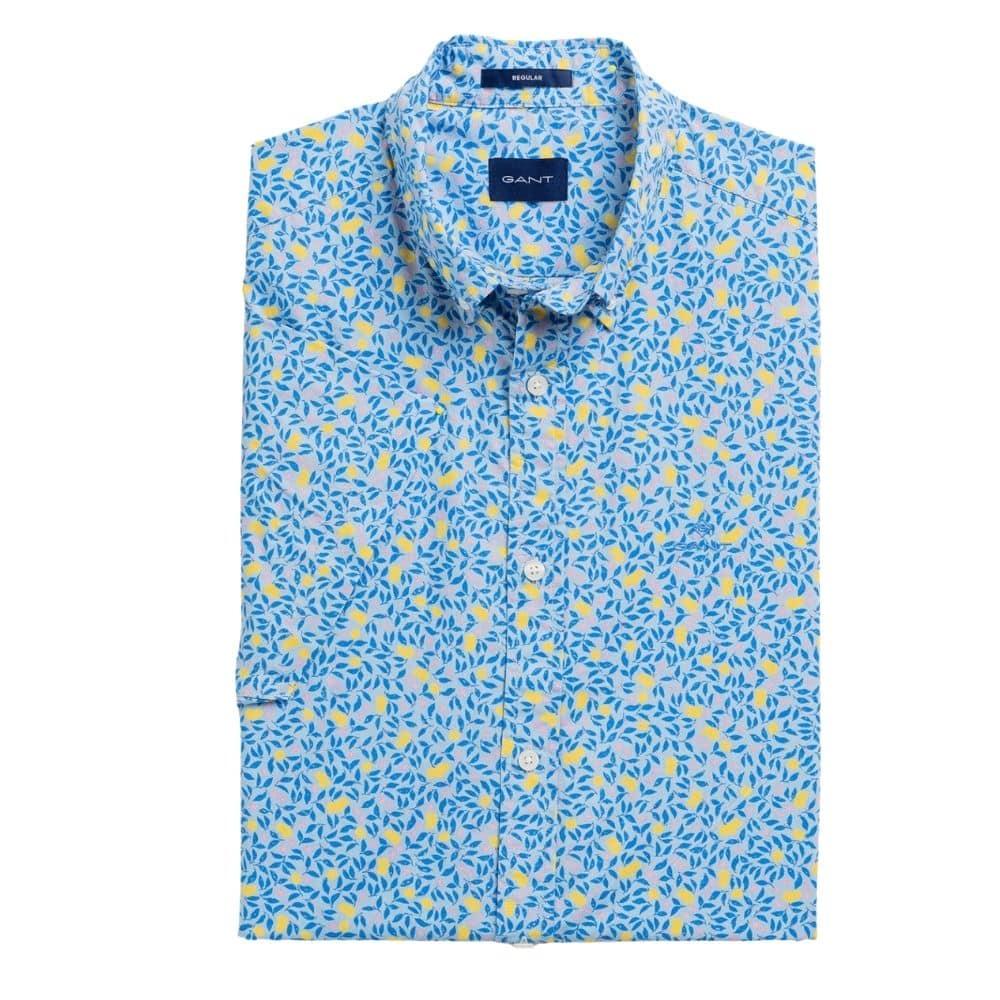 gant Lemonade Print short Sleeve shirt front