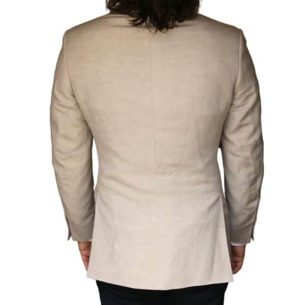 Canali jacket beige back