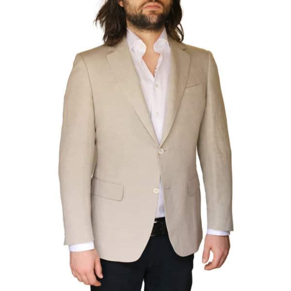 Canali jacket beige front
