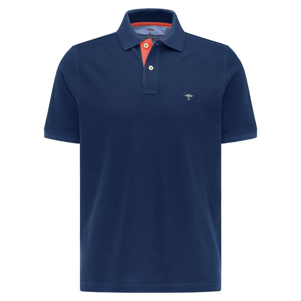 Fynch hatton polo shirt navy