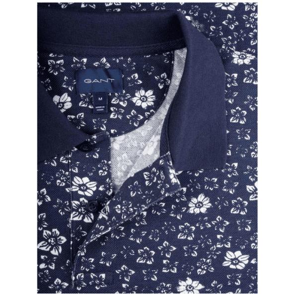 GANT Freedom Print Polo Collar