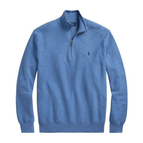 Polo Ralph Lauren Mesh Sweater Blue