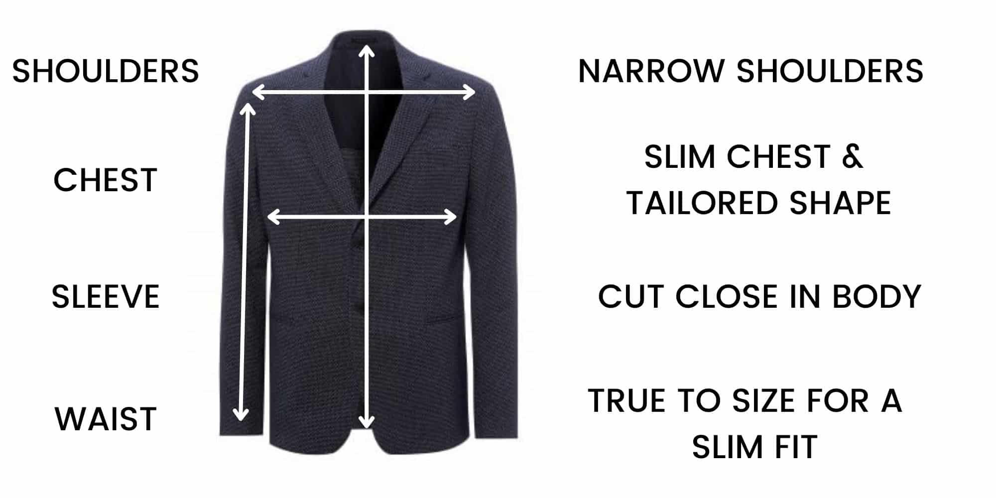 Emporio Armani Smart Jacket Size Guide