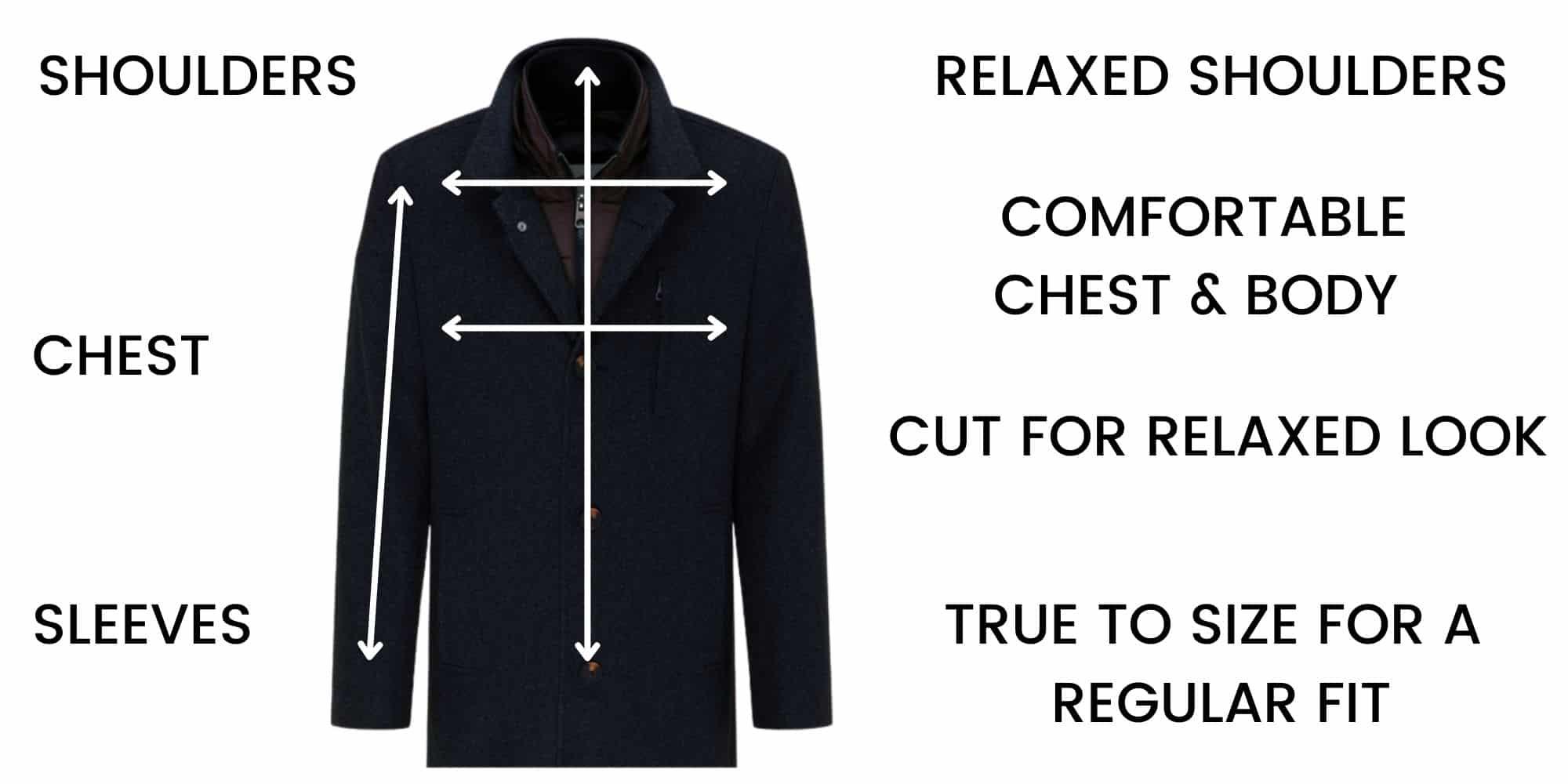 Fynch-Hatton outerwear Size Guide