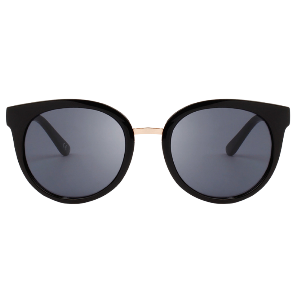 WARWICKS BLACK RETRO Sunglasses F