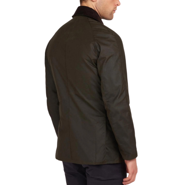 Barbour Ashby Wax Olive R