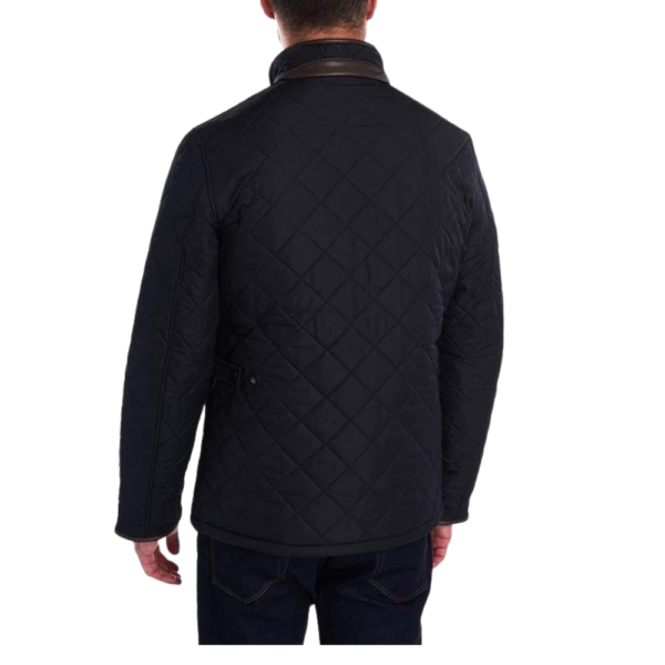Barbour Powell Navy Quilted R