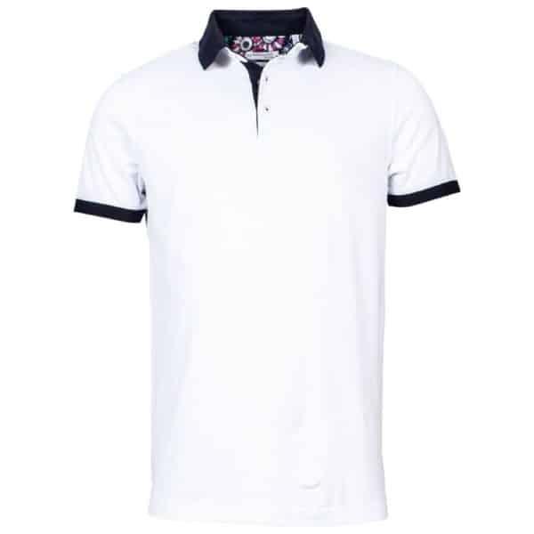 Giordano Tailored White Polo