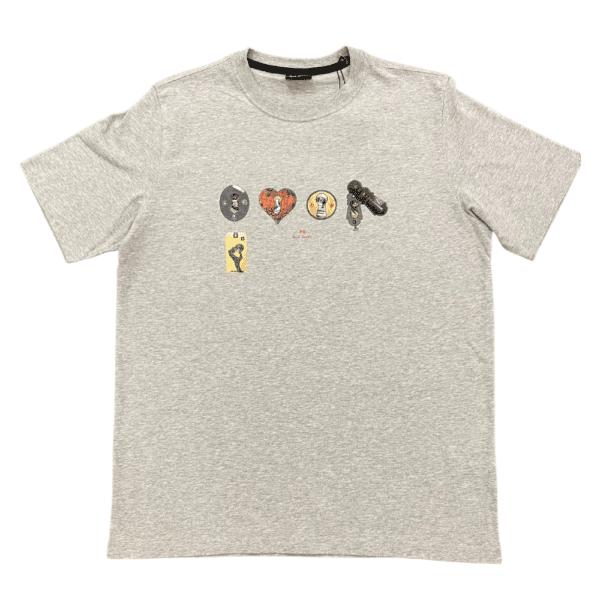PS Key Hole T Shirt Grey