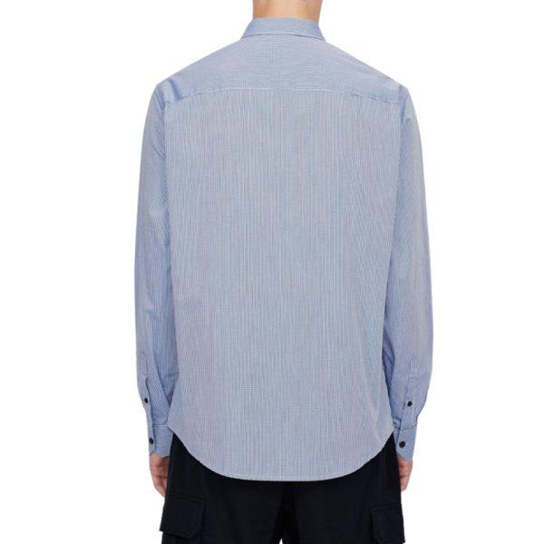 AX Blue Yarn Shirt Rear