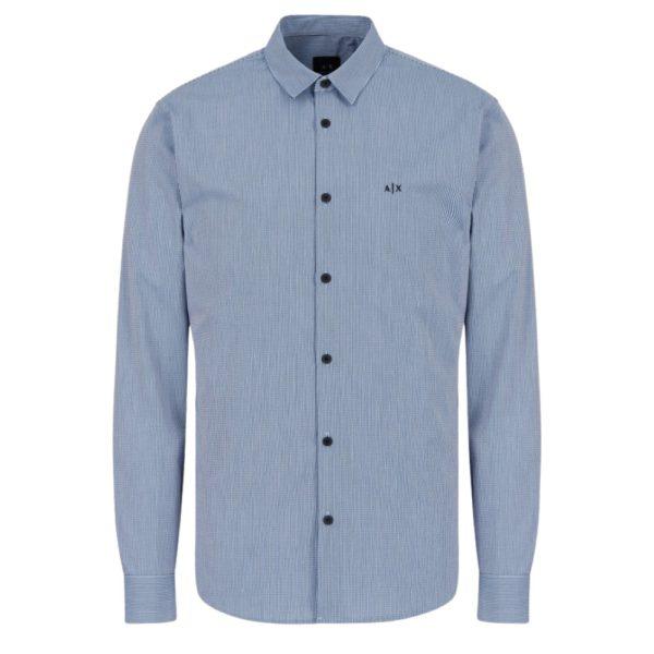 AX Shirt Blue Dye Front