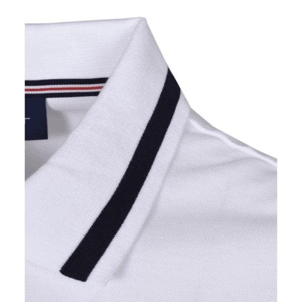 GANT white retro Polo C