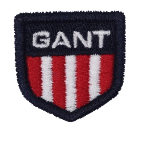 GANT white retro Polo Logo