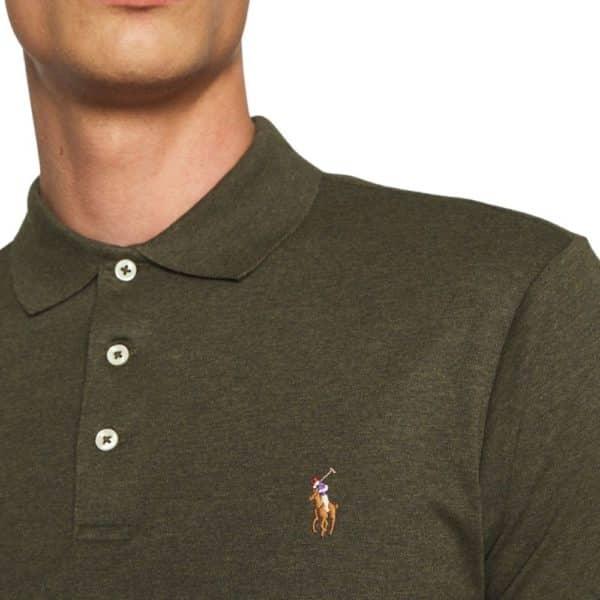 POLO RALPH LAUREN Burgundy estate rib HALF ZIP pullover 10