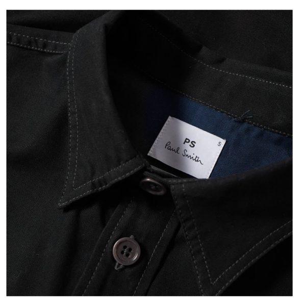 PS Overshirt Black Collar