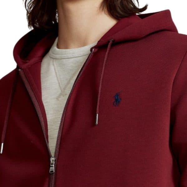 Ralph Lauren Red zip hoodie 2