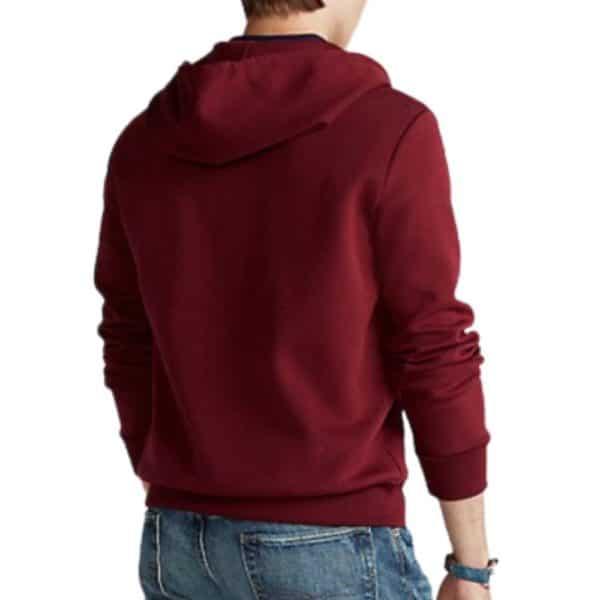 Ralph Lauren Red zip hoodie 3
