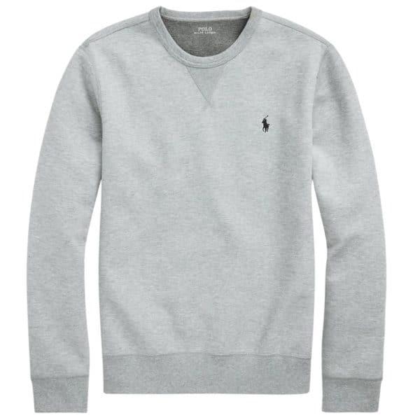 Ralph Lauren grey crew neck zip hoodie