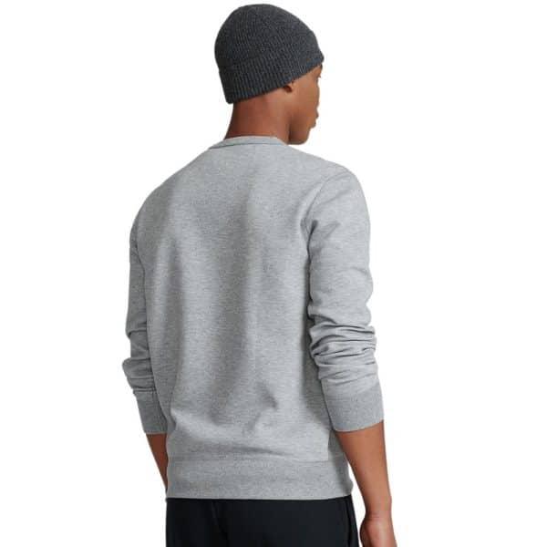Ralph Lauren grey crew neck zip sweatshirt