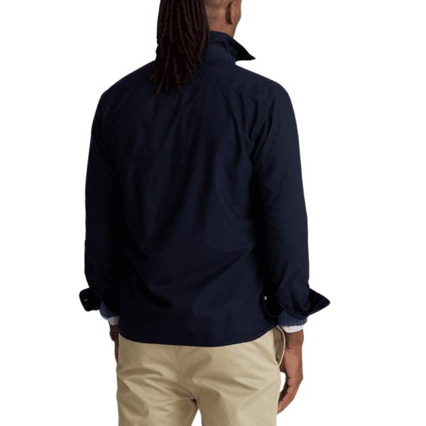Ralph Navy Overshirt Rear