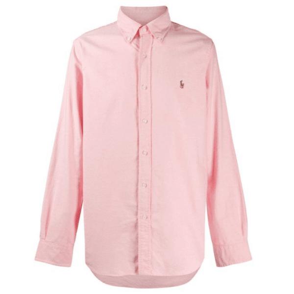 Ralph Pink Oxford Shirt F