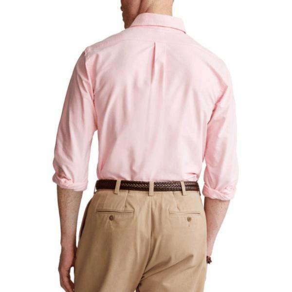 Ralph Pink Oxford Shirt Rear