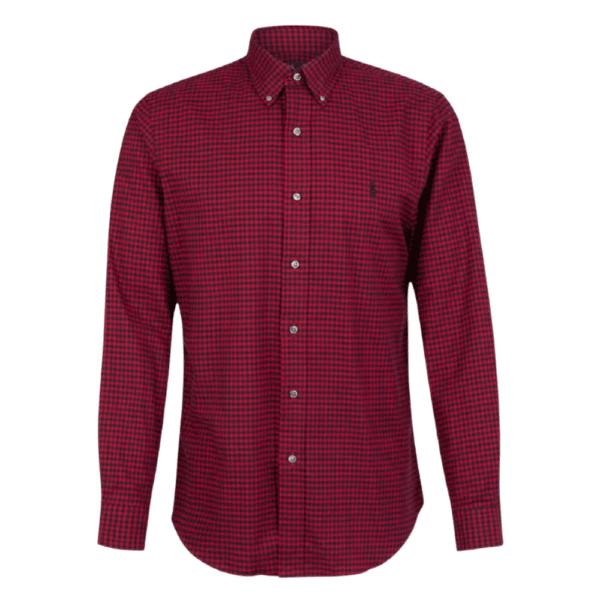 Ralph Red Gigham Shirt