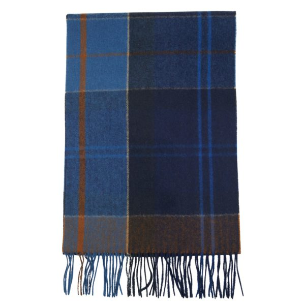 barbour scarf open