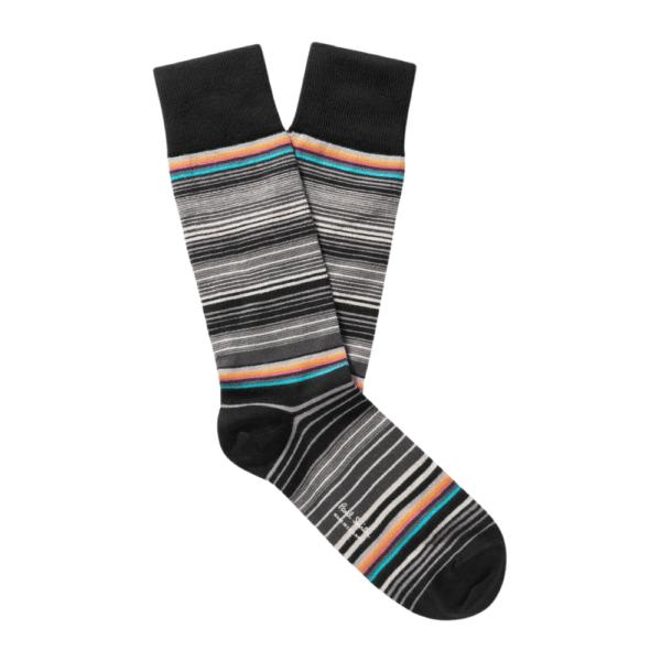 ps tanka stripe socks
